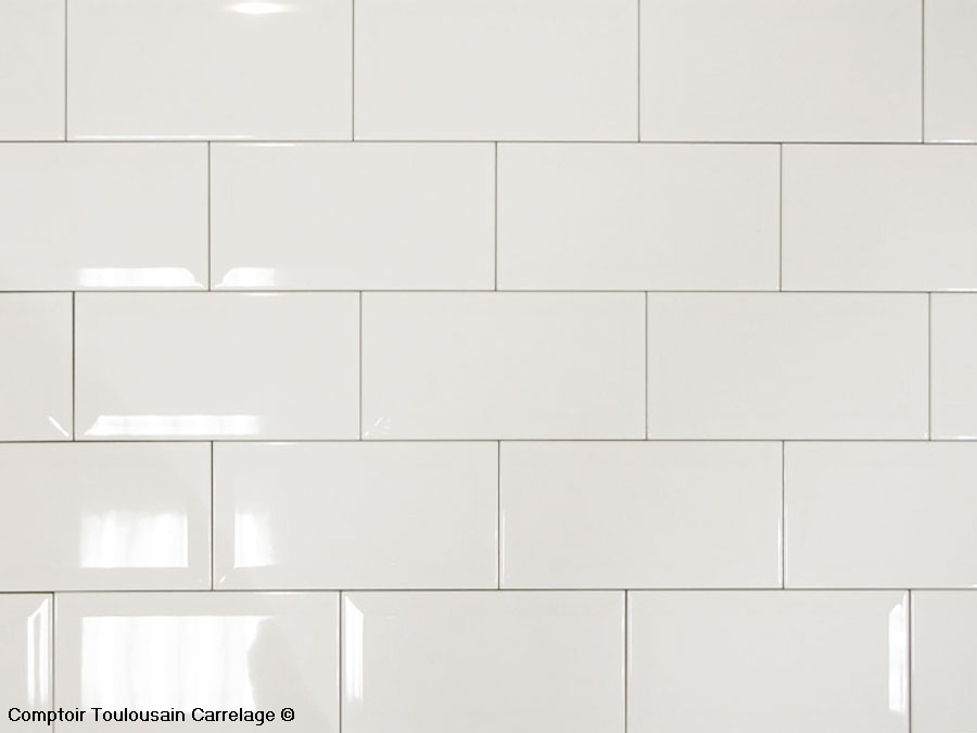 carrelage mural 10x20 metro de paris blanc mainzu carrelage 10x20 carrelage salle de bains. Black Bedroom Furniture Sets. Home Design Ideas