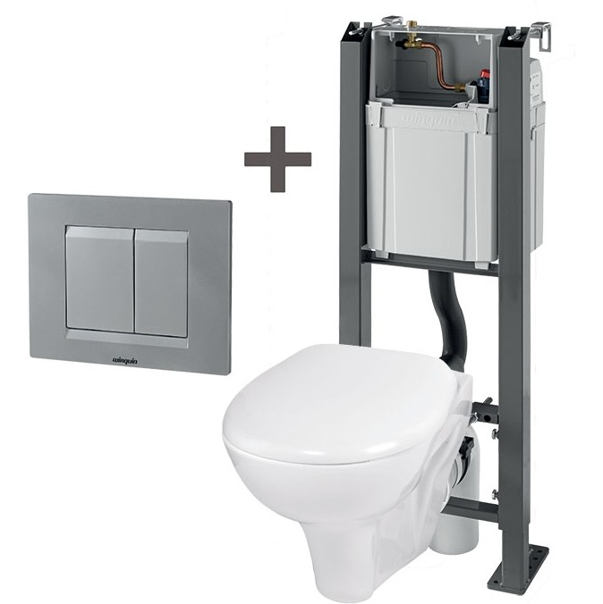 pack wc suspendu chrono wirquin suspendu baignoire et. Black Bedroom Furniture Sets. Home Design Ideas